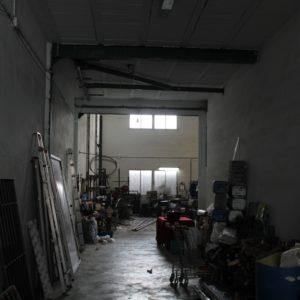 Entrada pasillo al taller